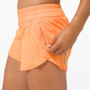 Lululemon SeaWheeze Tracker Short V Florid Orange